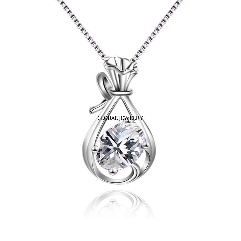 2019 Fashion Copper Jewelry Rhodium Plated Pendant Jewelry Items