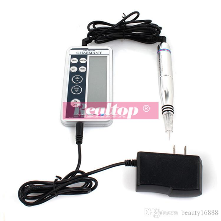 Electric Digital Tattoo Machines Permanent Makeup Pen For Eyebrows Lips Body Tattoo Cosmetic Kits Make Up with Cartridge Needles