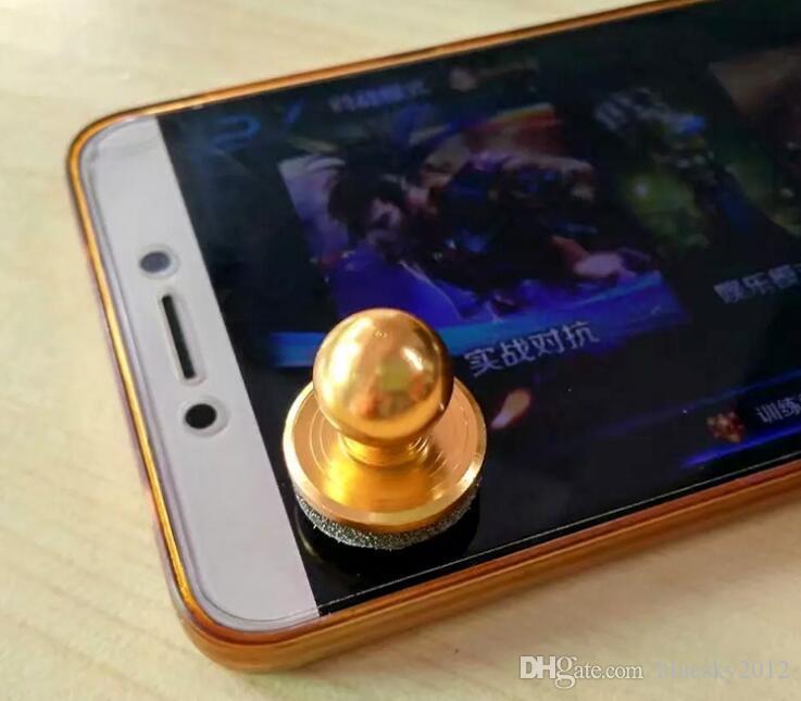 MiniTactile Game Controller Mini Joystick para iPhone iPad touch Samsung Dispositivo Android Celular Roker Otário Cores Misturadas 3003132