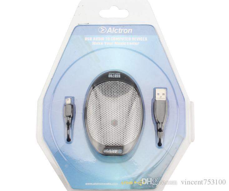 Recién llegado Alctron usb700 micrófono condensador condensador micrófono micrófono USB de límite para conferencia ENVÍO GRATIS