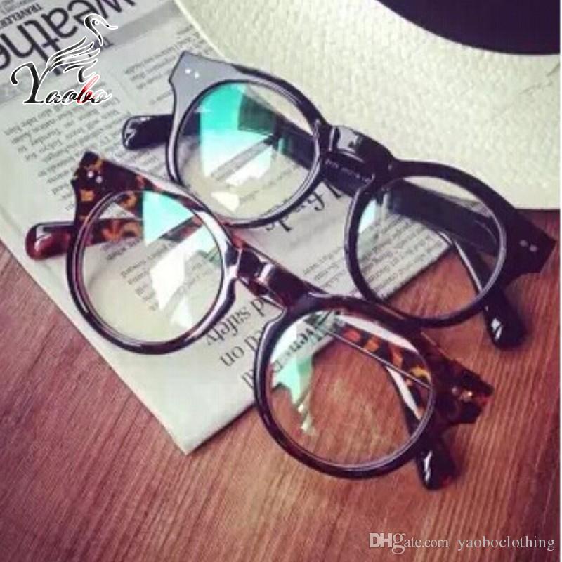 d51258969e 2019 Yaobo New Optical Plain Mirror Full Frame Student Eyeglasses Frames  Women Plastic Eye Glasses Frame For Myopia Oculos De Grau From Yaoboclothing