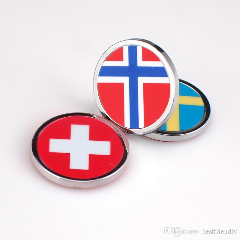 England Mini Flag Metal 3d Car Body Decorate Badge Emblem Sticker