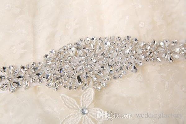Cinto De Casamento De strass Cintos De Casamento Cintos De Noiva Cintos para Vestidos De Casamento Cristais Marfim Branco Cinza Preto Borgonha Rosa