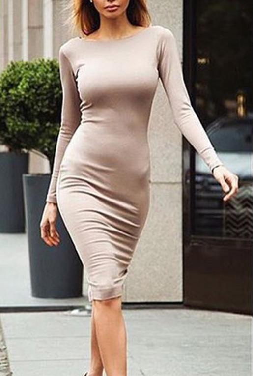 how to wear a tight dress