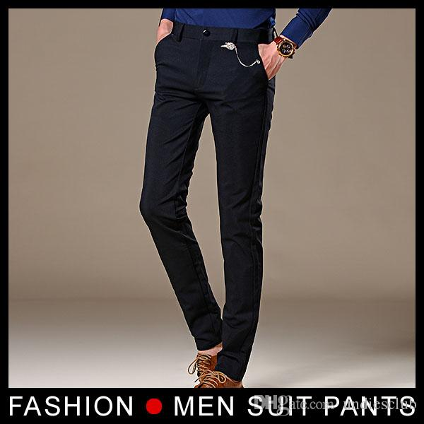 Summer mens dress pants