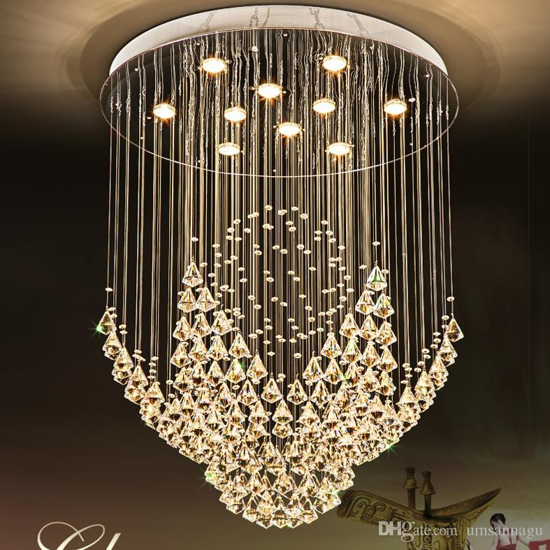 K9 Crystal Chandeliers LED Lamp Modern Chandelier