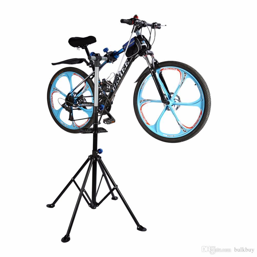TX-02 الصلب دراجة حامل إصلاح حامل الدراجة دراجة وقوف السيارات رف صيانة الرف إصلاح أداة إصلاح السيارات محطة الحديد الإطار مقعد بالجملة