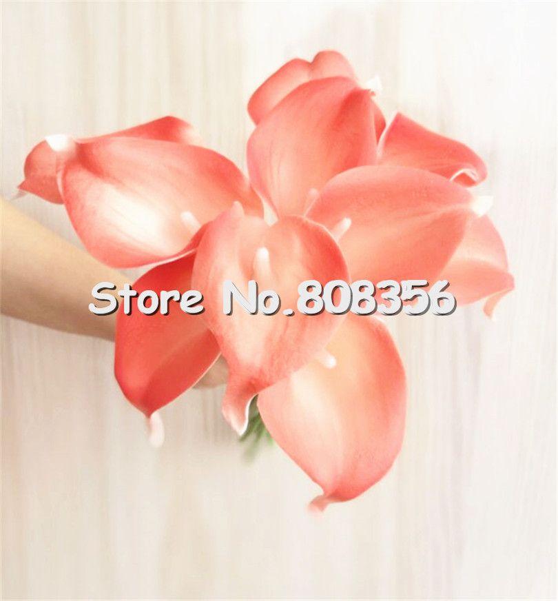Latex Callas 100 stücke 35cm Elegante Silikon Künstliche ägyptische Calla Lily Alocasia Pflanze Blume Für Hochzeit Braut-Mittelstücke Dekorationen