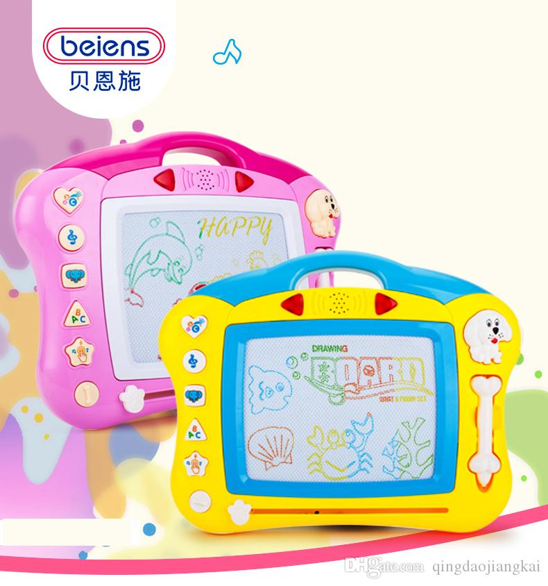 2019 Beiens Preschool Toy Magnetic Drawing Board Baby Kid Child