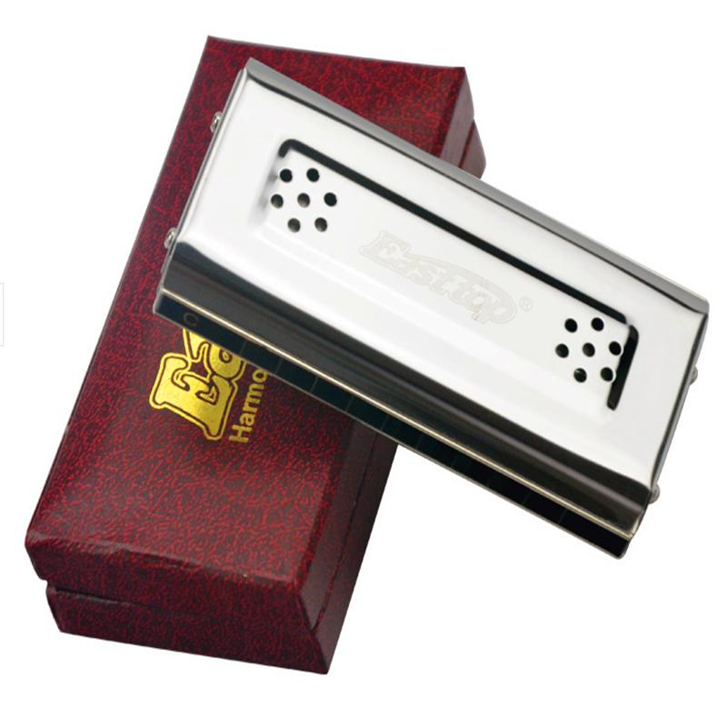 Wholesale-Easttop Harmonica 10 Holes Both Sides C & G Key Harmonica Diatonic Harp Musical Instruments Mouth Ogan Easttop 10 Mouth Harp