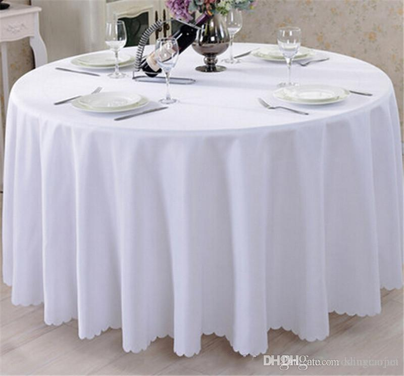 Round Table Dust Cover Outdoor Waterproof Garden Patio Furniture Covers Tablecloth For Wedding Party Hotel Decoration Home & Garden