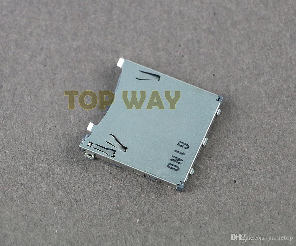PS Vita PSV1000 PSV2000 핸드 헬드 콘솔 수리 부품 용 정품 게임 카드 게임 메모리 카드 슬롯 교체