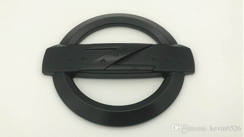 NOUVEAU Alliage Noir / Argent Z Logo Emblème Badge Fairlady Hood Trunk Fit 350Z 370Z
