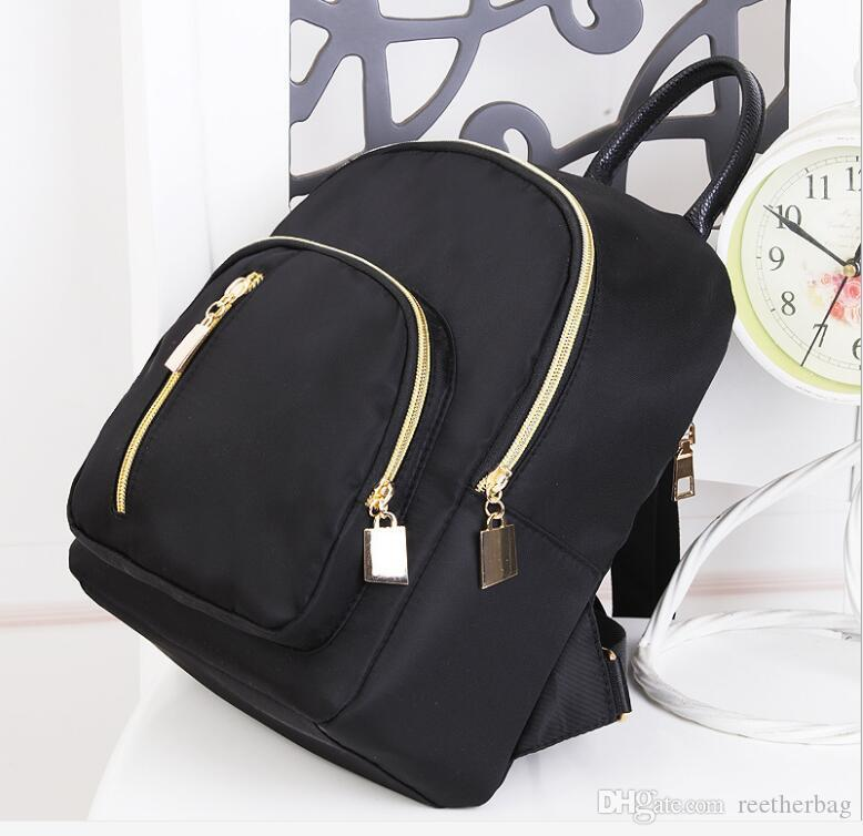 eaca568908fe Waterproof Nylon Mini Backpack Purse Women S Backpacks Fashion Female Small  School Backpacks For Teenage Girls Youth Rolling Backpacks Backpacks For  Men ...