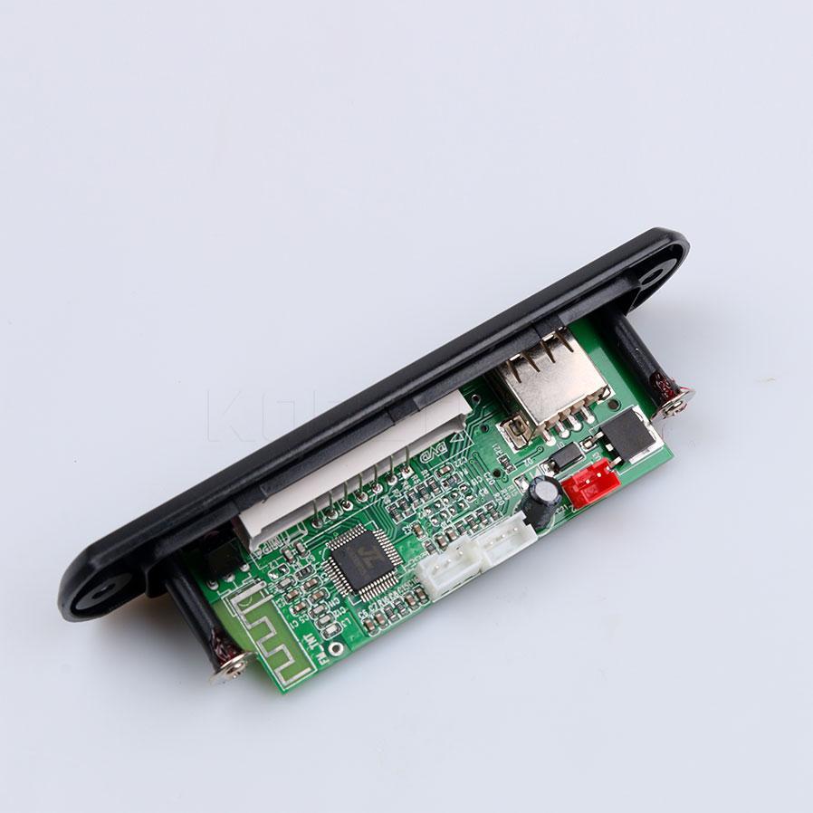 Kebidu Drahtlose Bluetooth Auto Mp3 Decoder Board Modul Freisprecheinrichtung Zubehör 12 V Audio Usb Tf Fm Radio Mit Fernbedienung Unterhaltungselektronik Tragbares Audio & Video