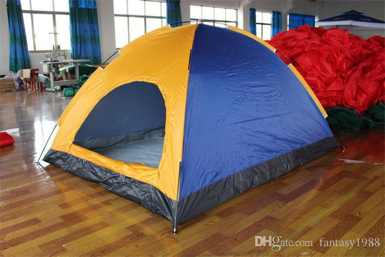 Easy Carry Outdoors Gear Hiking Camping Tents Shelters UV Protection Beach Travel Lawn Park Home 5-8 Persons Tent Mixed Color DHL/Fedex
