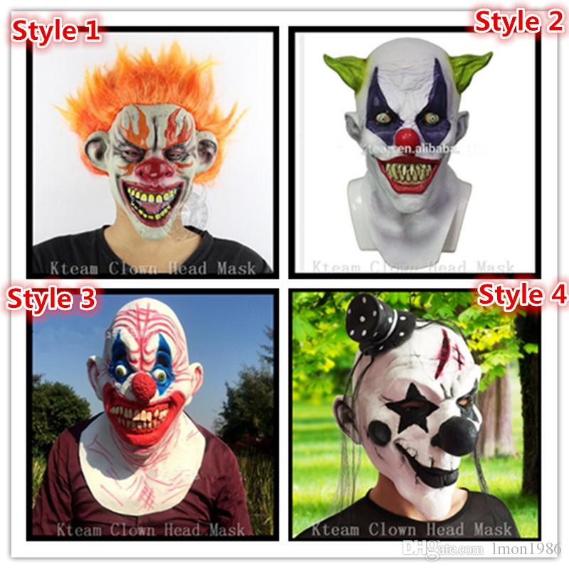 Costumes & Accessories Latex Mask Carnival Costume Accessory Joker Novelty Halloween Party Head Mask Fancy Dress Party Cosplay Mask