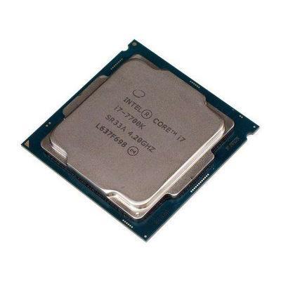 Original für Intel Core i7 7700K Prozessor 4,20 GHz / 8 MB Cache / Quad Core / Sockel LGA 1151 / Quad Core / Desktop I7-7700K CPU