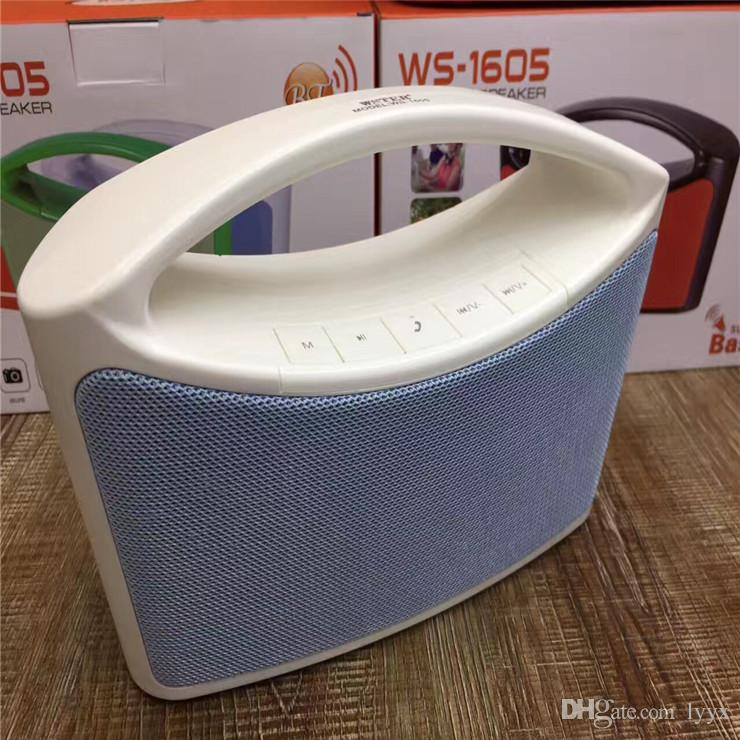 High-end Quality Wireless Bluetooth Speaker WS-1605 Portable Large Portable Metal Bluetooth Audio, The Best Sound Quality, Factory Direct