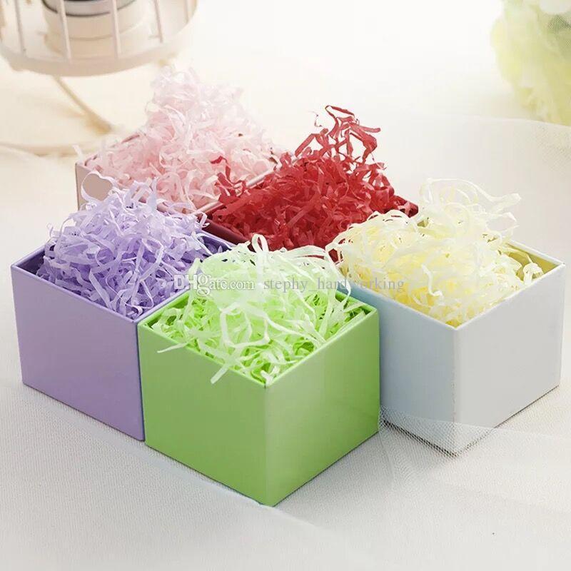 50gbag Quality Raffia Jute Filler Paper Wedding Favor Party Gift