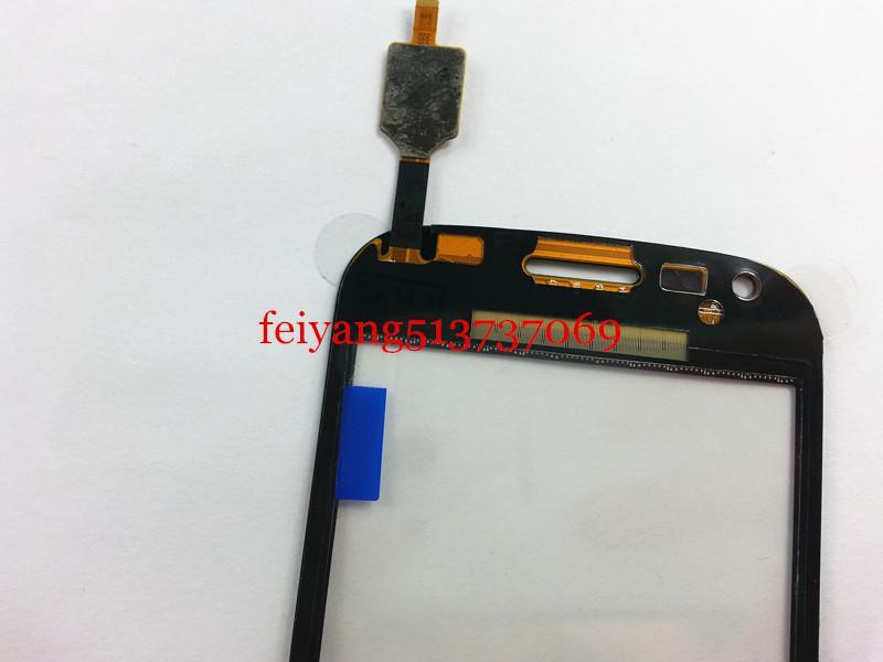DHL EMS tarafından Duos ile Samsung Trend Plus, s7580 s7582 Siyah beyaz renkli Dokunmatik Ekran Digitizer için Orijinal