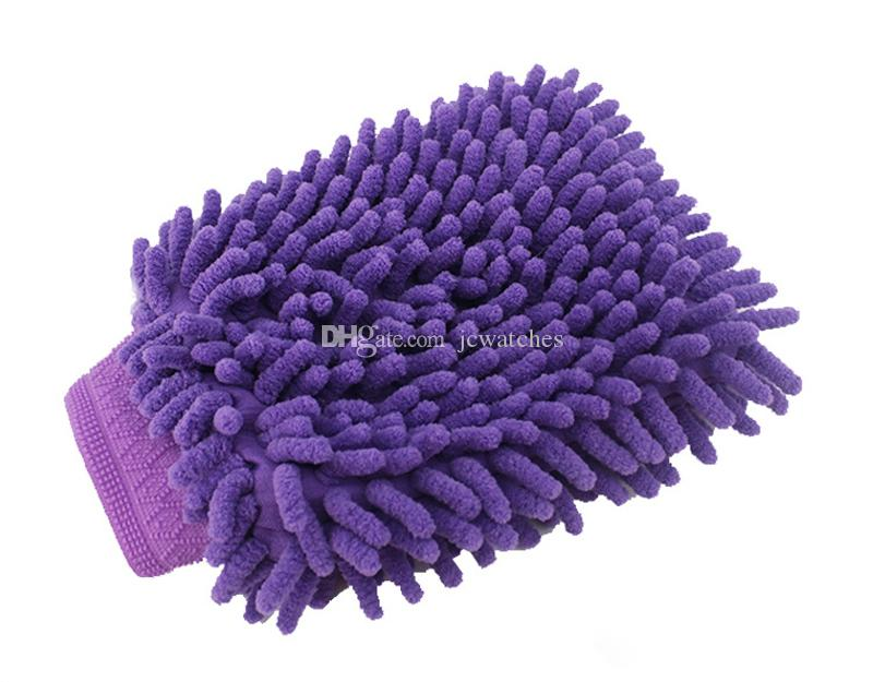 Car Washing Cleaning Gloves Double Side Chenille Washer Tool Super Mitt Microfiber Cleaning Cloth Wholesale