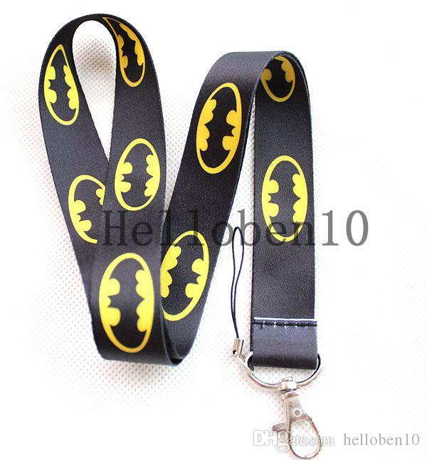 Hot sale of new mobile phone accessories mobile phone lanyard Batman chain, Shiping wholesale 100