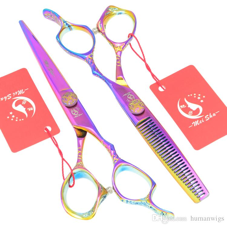 6.0Inch Meisha JP440C Professional Hairdressing Scissors Hot Hair Thinning Scissors Best Hair Shears for Home or Salon Use ,HA0227