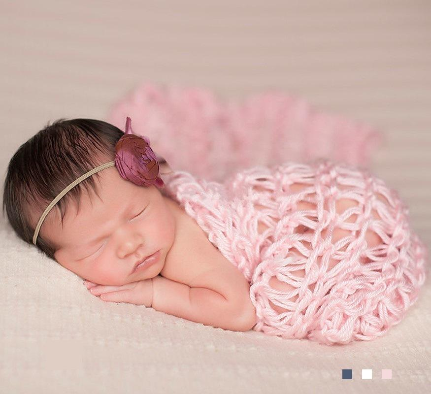 2018 newborn photography props for boy girls newborn crochet wrap baby photography props clothing newborn photography accessories from kiss my baby