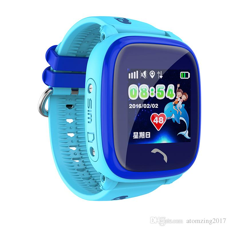 2017 New Arrival DF25 Child Smartwatch IP67 Swim GPS Touch Phone smart watch SOS Call Location Device Tracker Kids Safe Anti-Lost Monitor