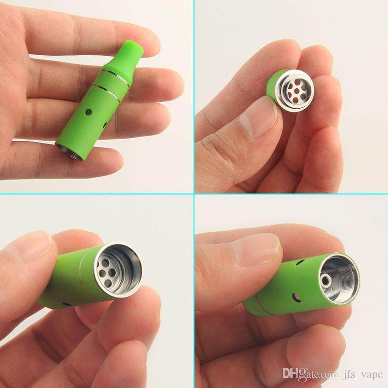 Vape Mini Ago G5 Pen Wax Atomizer Dry Herb Vaporizer Herbal Vapor Heating Coil Vape for 510 Thread eVod eGo T Battery