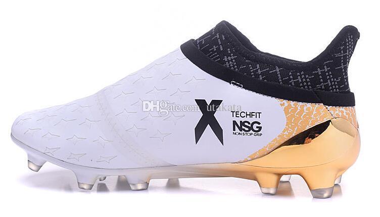 Orijinal mens açık Futbol Çizmeler X 16 + PureChaos FG AG Futbol Ayakkabı erkekler için Messi Saf kaos 16 Pureagility NSG Futbol Cleats