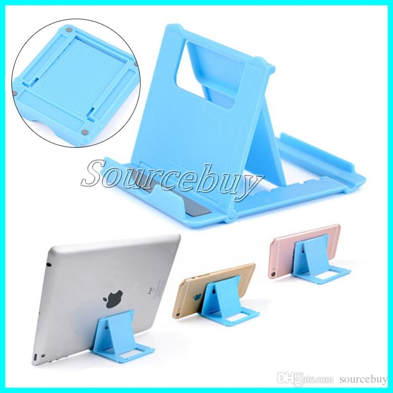 Mini Portable Foldable Phone Holder Universal Desk Multi-angle Stand For iPad iPhone 7 8 Tablet for Xiaomi mi5 Samsung S8 HTC phone Bracket