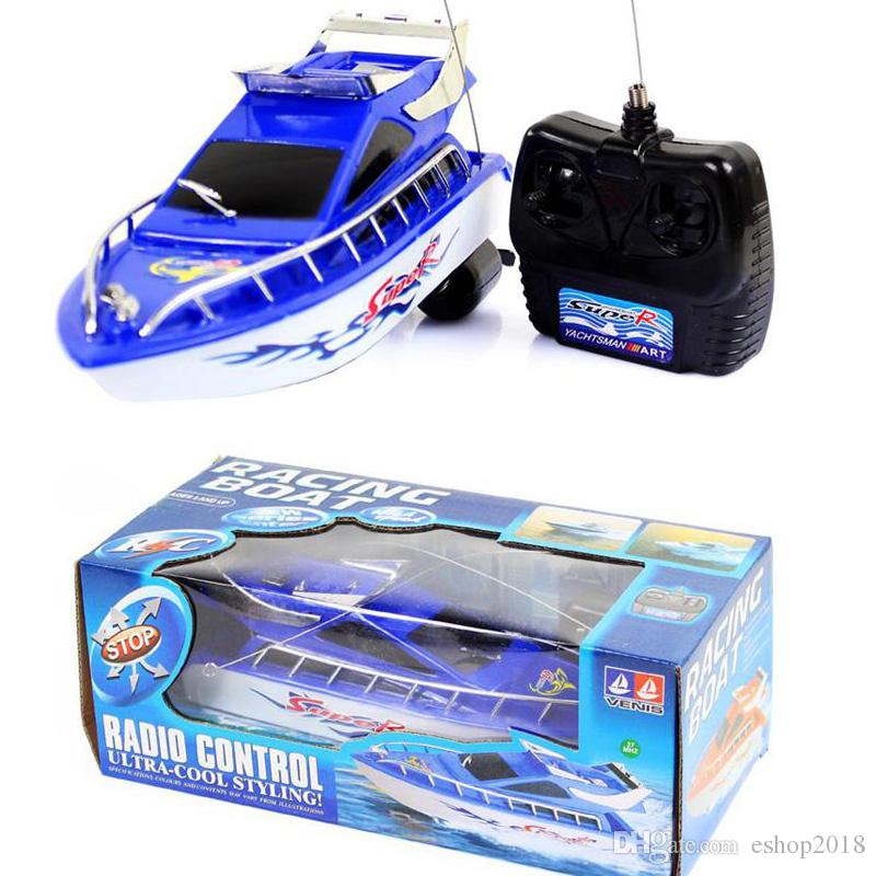 Ship Powerful Double Motor Radio Remote Control Racing Speed Electric Toy Model Ship Children Gift Boats Control Vehicles toys