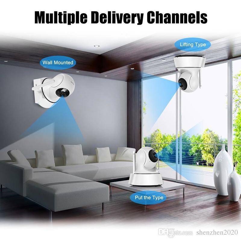 2017 nuova sicurezza domestica Wireless Mini telecamera IP Telecamera di sorveglianza Wifi 720P Night Vision CCTV Camera Baby Monitor