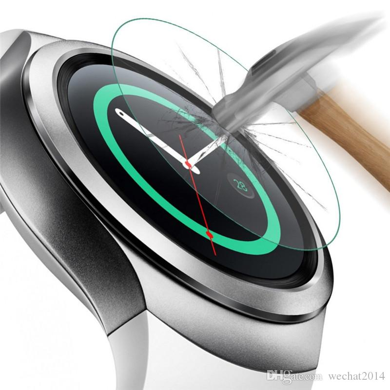 0.3mm Ultra Thin 9H Hardness Premium Tempered Glass Screen Protector Film For Samsung Galaxy Gear S2 No Package