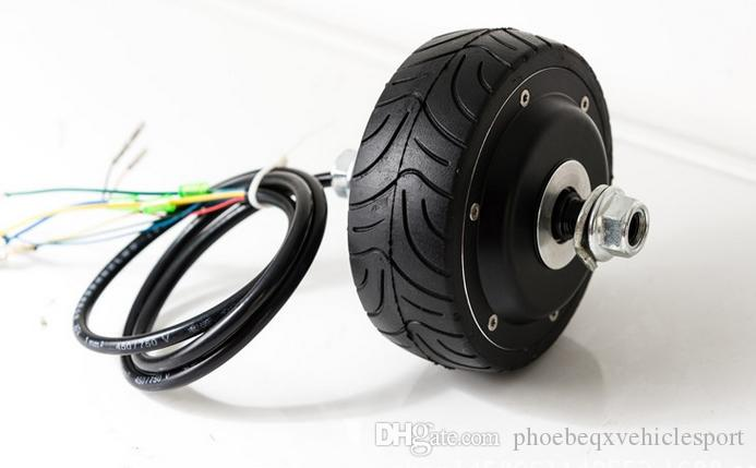 2019 4inches Bldc Hub Motor With Tyre Hall Sensor And Eabs
