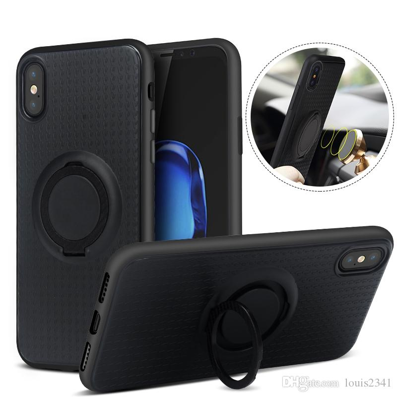 info for 52cf8 a76ec Finger Ring Holder Case for iPhone XS MAX XR Magnetic Holder Protective  Case for iphone x 6s 7 8 plus for samsung galaxy note9 8 S8 S9 Plus