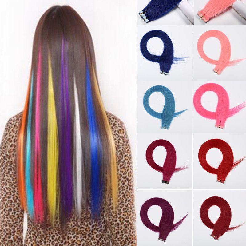 Newest Tape In Hair Extensions Brazilian Human Virgin Hair Skin Weft