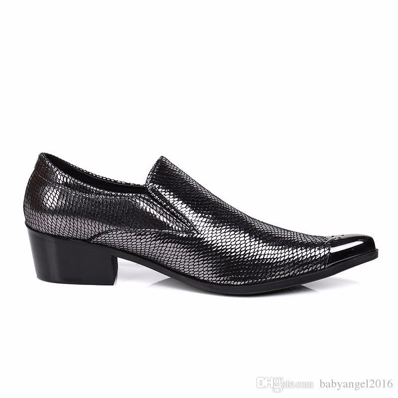 Christia Bella Neue Business Männer Kleid Schuhe Britischen Luxus Spitz Echtem Leder Schuhe Formale Hochzeitsbankett Herren Wohnungen