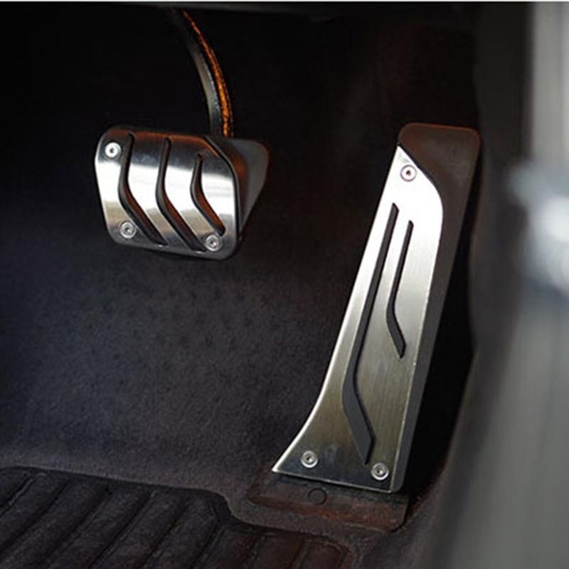 Stainless steel Car Gas Brake Pedal For BMW 1 3 5 7 Series X3 X5 Z4car  styling