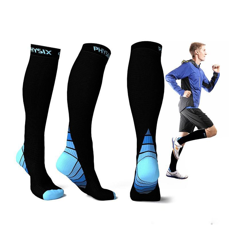 Shop Men's Socks Online, Compression Socks Men Foot Anti Fatigue Football  Socks Unisex Running Sports Women Men Leg Support Stretch Socks Magic  Compression ...