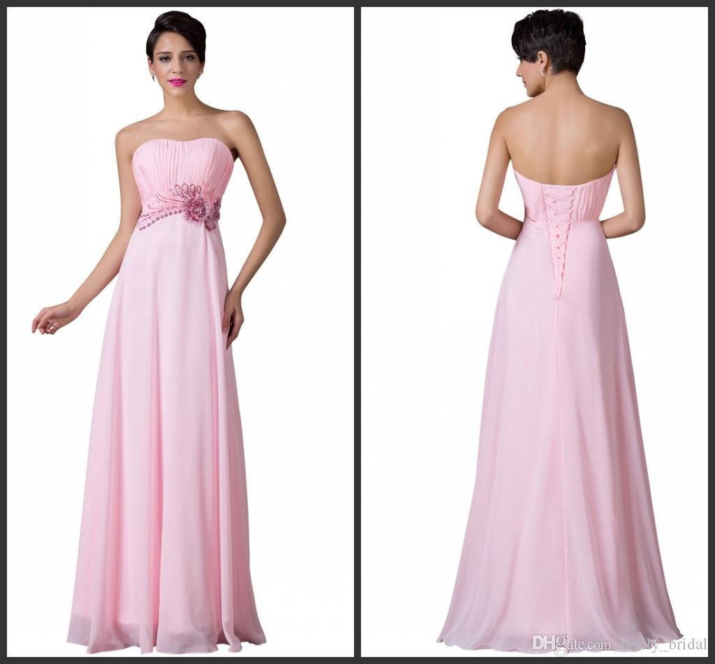 Compre Vestido De Gasa Rosa Vestido De Lentejuelas Bling Cuello Sin ...
