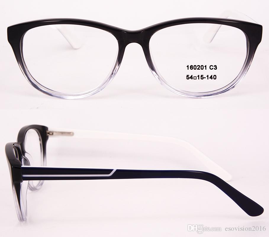 Cadre de lunettes de marque de mode Hommes et femmes Lunettes Optique Lunettes de vue Lentille claire MYOPIA Lunettes de vue à vendre en haute qualité Ovale 160201