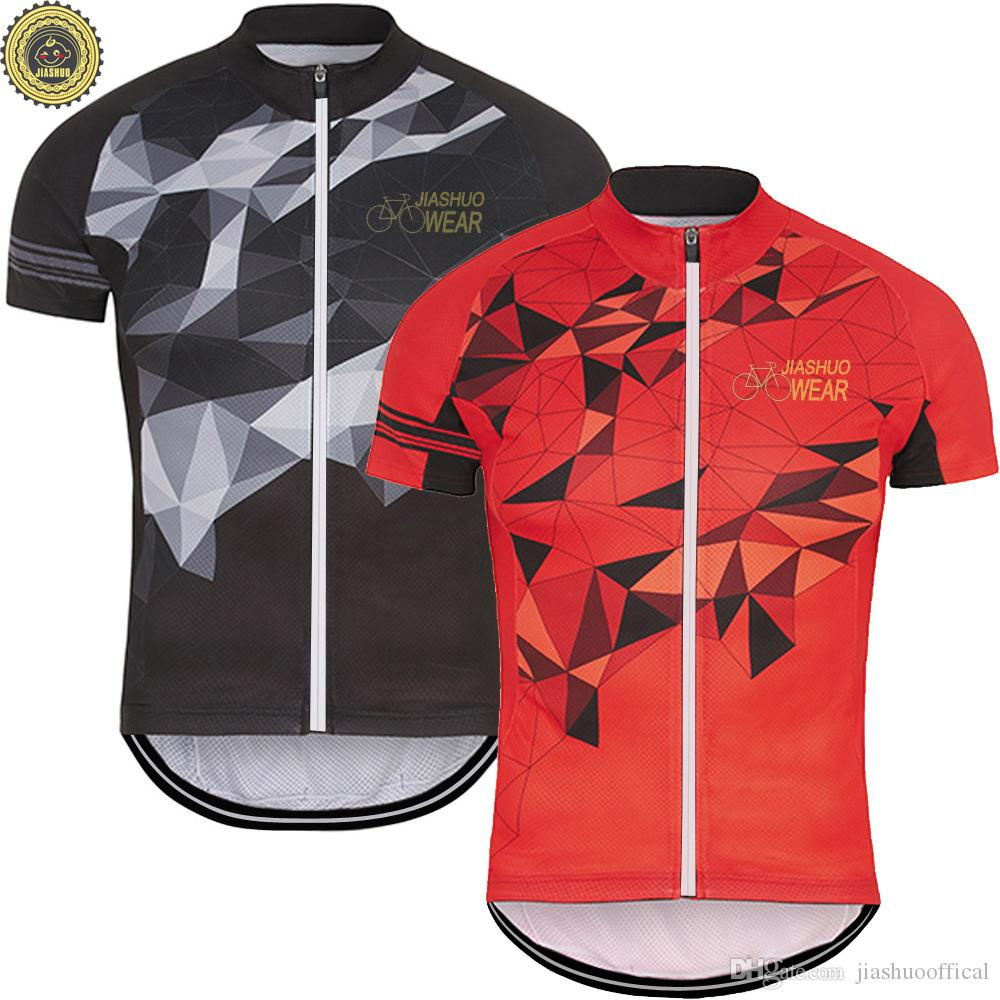 new styles 4605e 29238 Customized NEW Hot 2017 Classical JIASHUO Wear Chain mtb road RACING Team  Bike Pro Cycling Jersey / Shirts & Tops Clothing Breathing Air 2