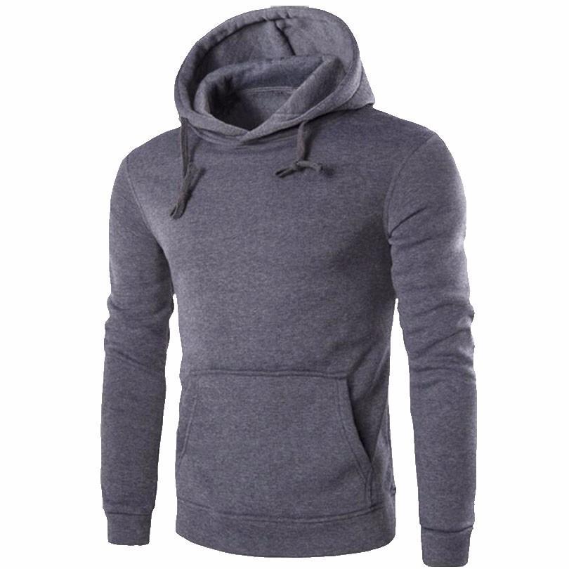 bb351c1884 Casual Hoodie Men 2018 Spring Men'S Hoodies Sweatshirt Cotton Casual  Fashion Men'S Hooded Jacket Men'S Jacket Polo Hoodie