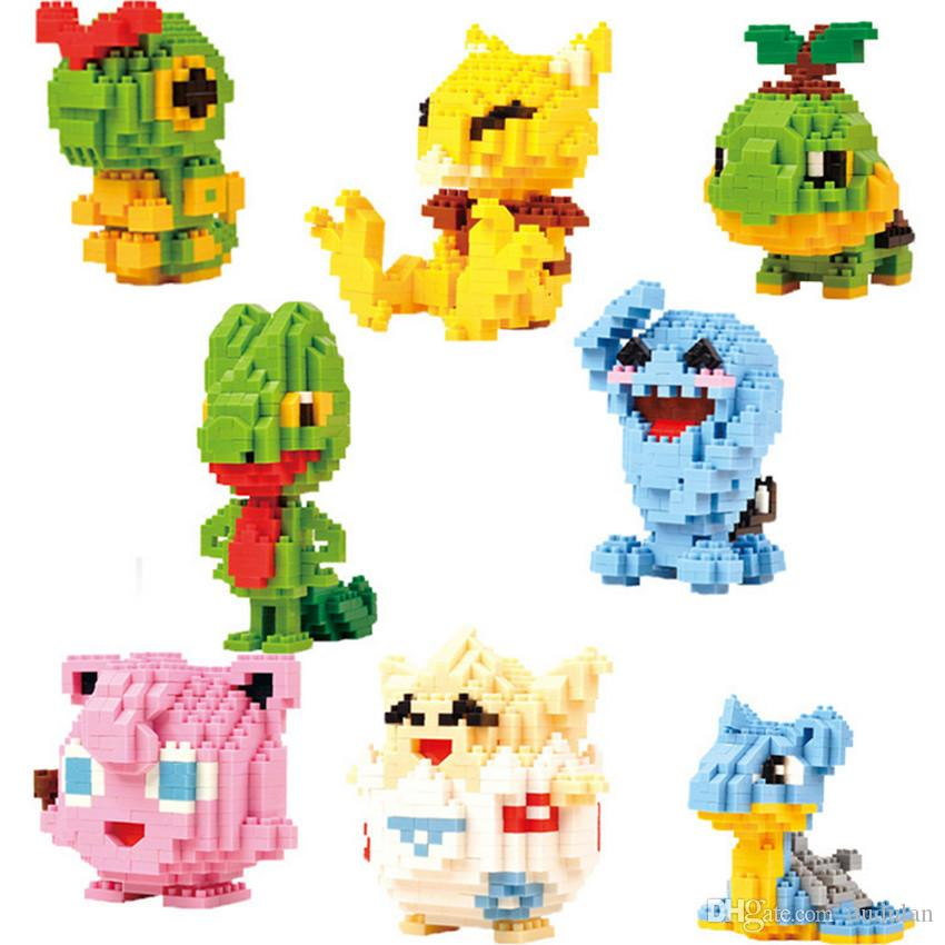 Screwing Blocks Nice 2018 Time-limited New Lno Diamond Building Block Cartoon Anime Plastic Elf Abs Puzzle Education Childrens Toys Gifts Blocks