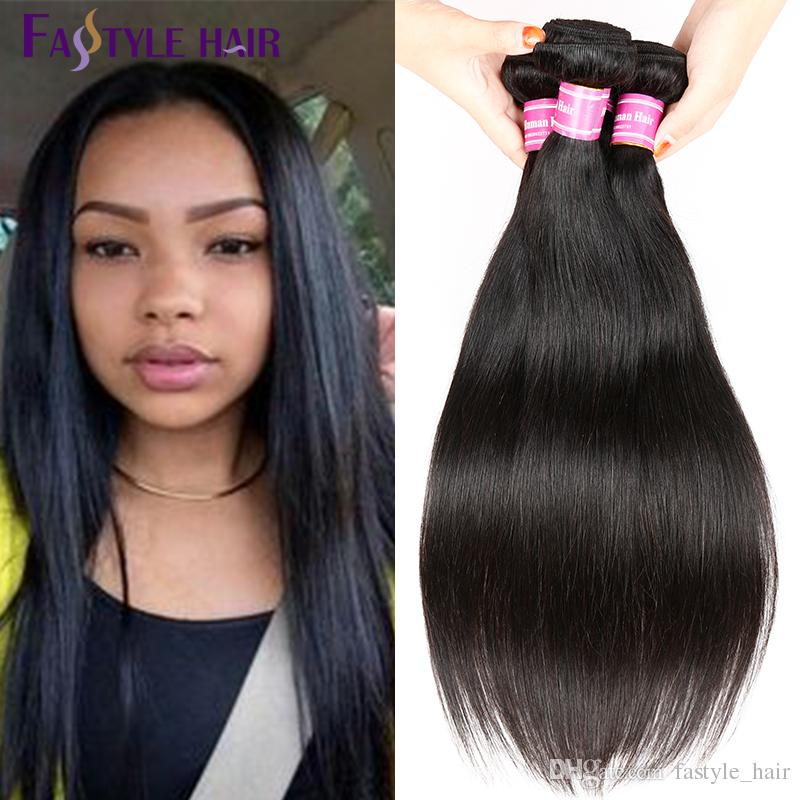 Brazilian Straight Hair Extensions Top Quality Hair Weave Peruvian