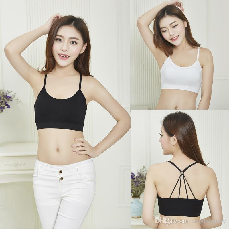f4f20d7d10d05 Fashion Sexy Sports Yoga Bra Women Bras Seamless Bra Gather ...