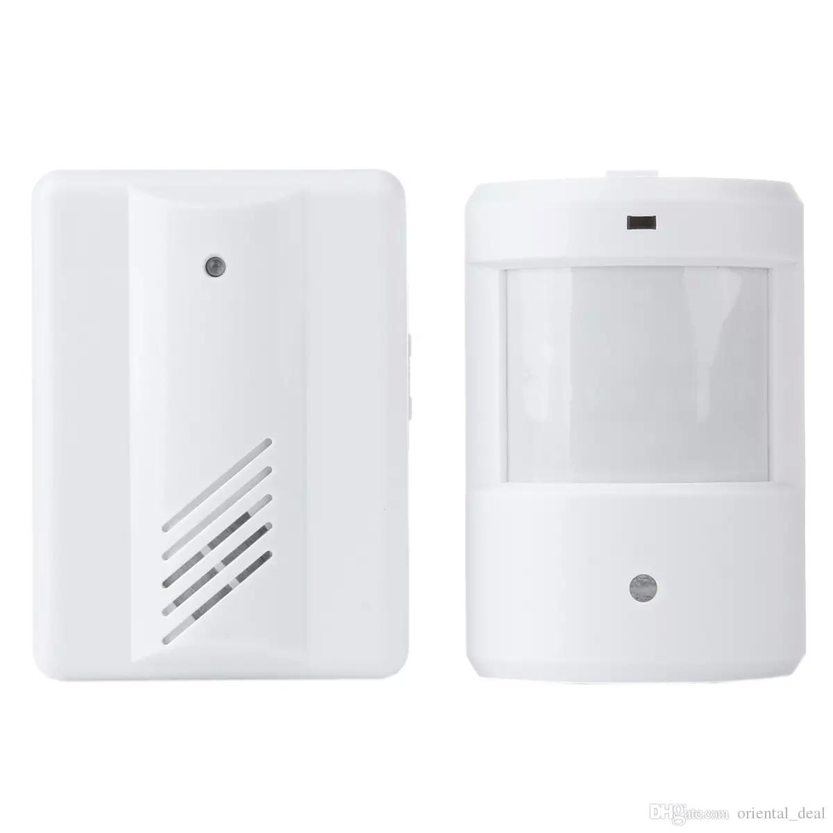 garage home motion driveway patrol promo doorbell infrared security sensor alarm wireless system new pin